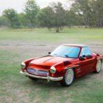 Rendering a Mercedes SL in Unreal